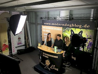 """Making Of"" ModernDogBlog 1. Live Video-Blog Mantrailing mit Frau Dr. Busse"